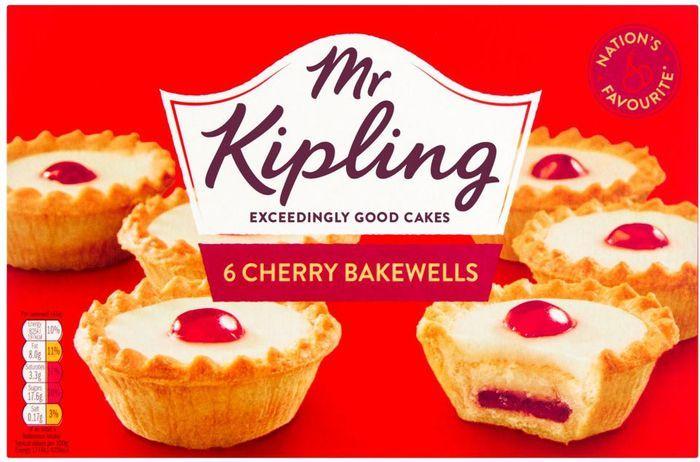 Mr Kipling Cherry Bakewells 6 Pack - £0.85 @ Asda
