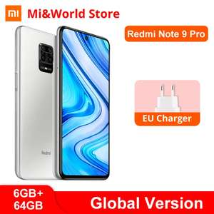 Xiaomi Redmi Note 9 pro 6GB 64GB Snapdragon 64MP Quad Cameras-AliExpress-Mi&World store £184.48 / 128gb £198.61 at AliExpress Mi&World Store