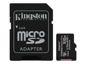 512gb Kingston MicroSD card with adapter - £65.78 delivered @ BT Shop