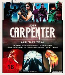 John Carpenter Blu-Ray Collectors Edition 7 Films Included + Exclusive Extras £36.46 Delivered @ Amazon Germany