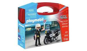 Playmobil 5648 City Action Collectable Small Police Carry Case - £4 Prime / +£4.49 non Prime @ Amazon