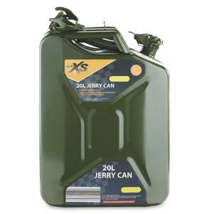20L Jerry Can in Aldi (Bletchley), £16.99 at Aldi Bletchley