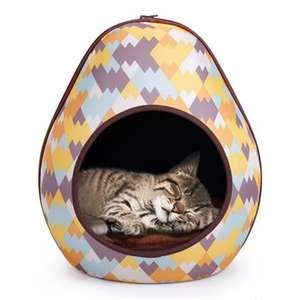 Ibiyaya Gourd Pet House (Triangle or Zig-zag design) £7.19 (+£2.95 P&P) @ Pet & Country Store