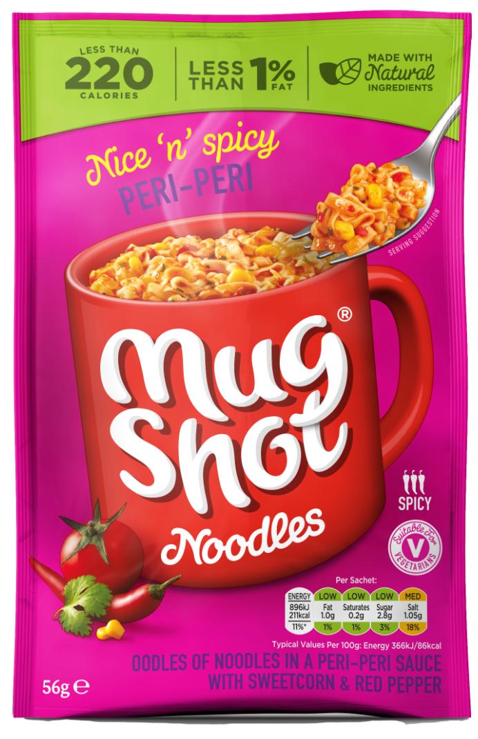 Peri peri mugshot 56g - £0.10 instore @ Heron Foods, Northumberland Park
