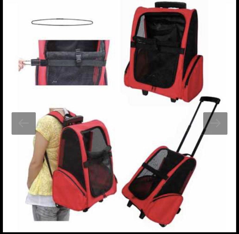 Combo Pet Stroller Backpack - £14.49 +£4.99 del @ Pet Planet