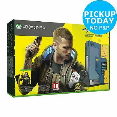 Xbox One X 1TB Limited Edition CyberPunk 2077 Console Bundle £259.99 / £263.94 delivered @ Argos / eBay