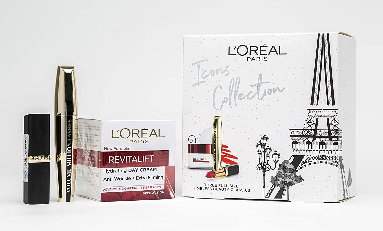 L'Oreal Paris Beauty Icons Full Size Gift Set - £10.99 Prime / +£4.49 non Prime @ Amazon