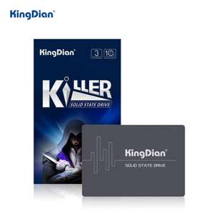 Kingdian 2TB SATA SSD with 3D TLC NAND & DRAM Cache £152.13 @ AliExpress KingDian official store