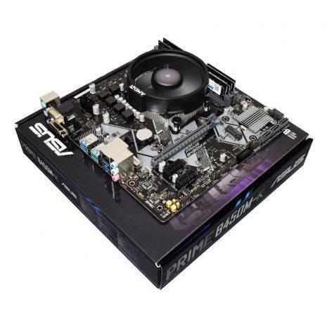 AMD Ryzen 5 3600 Six Core 4.2GHz, Asus B450M-K Motherboard CPU Bundle - £214.99 @ AWDIT