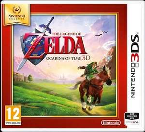 The Legend of Zelda: Ocarina of Time 3D (3DS) - £12.99 at Amazon Prime (+£4.49 non prime)