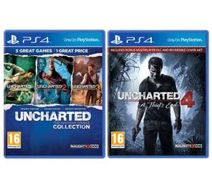 PS4 Uncharted: The Nathan Drake Collection & Uncharted 4: A Thief's End Bundle - £25 delivered @ Currys PC World