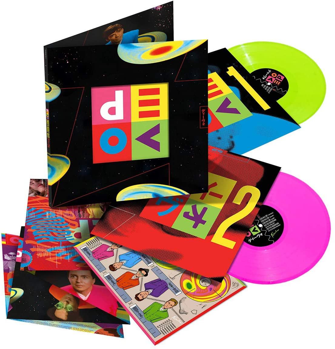 Devo - Smooth Noodle Maps Deluxe Edition 2 x LP Neon Pink & Green Coloured 180g Vinyl Prime - £12.50 Prime / £15.49 non-Prime @ Amazon