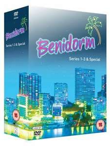 Benidorm - Series 1-3 and Special [DVD] - Used Very Good - £3.49 @ worldofbooks08 / eBay