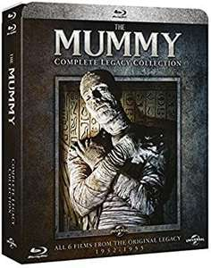 The Mummy Complete Legacy Collection blu ray £12.99 @ Amazon prime (non prime £2.99 p&p)