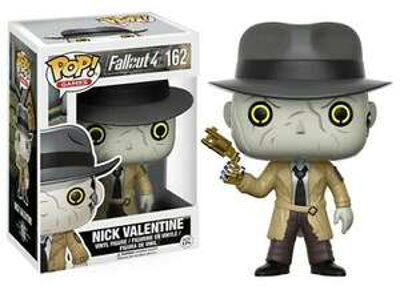 Funko NICK VALENTINE #162 POP! Games: Fallout 4 Vinyl Figure - £7.49 @ barnardos_charity / eBay