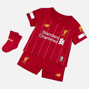 Liverpool FC Home Baby Kit- Half Price at New Balance for £24.99 delivered