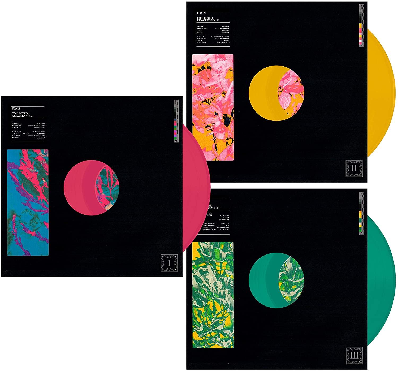Foals - Collected Reworks Boxset 3 x LP Coloured Vinyl (Pre-order) £26.99 @ Amazon