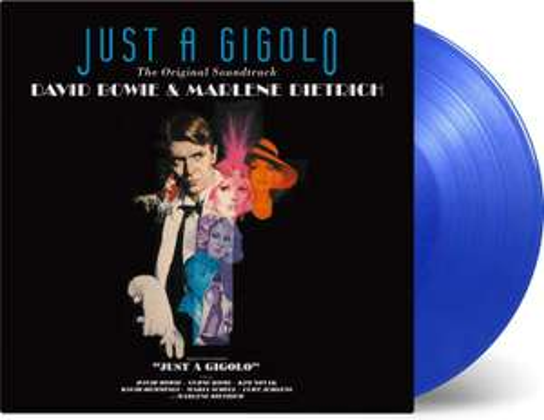 David Bowie & Marlene Dietrich - Just A Gigolo OST Limited Edition 180g Coloured Vinyl £12.50 Prime / £15.49 non-Prime @ Amazon