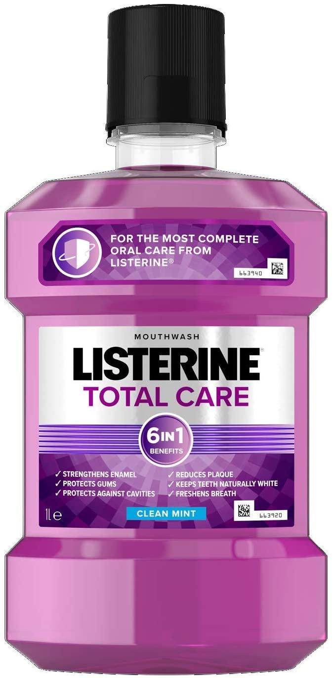 1L Listerine mouthwash at Amazon for £4.40 Prime (+£3.49 non Prime)