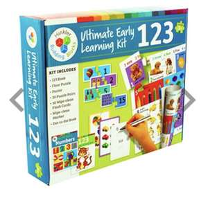 Ultimate Early Learning Kit 123 at The Works for £12.99 delivered