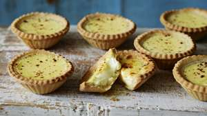 Egg Custard Tarts 2 for £1 suitable for vegetariansat Morrisons Walsall
