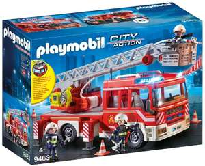 Playmobil City Action 9463 Fire Ladder Unit With Light and Sound for Children Ages 4+ for £29.98 delivered @ Amazon
