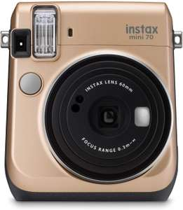 instax mini 70 camera with 10 shots, Stardust Gold - £47.50 delivered @ Amazon