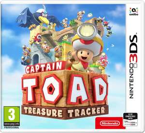 Captain Toad Treasure Tracker Nintendo 3DS Game £7.49 (free click & collect or £3.95 delivery) @ Argos