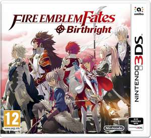 Fire Emblem: Fates Birthright Nintendo 3DS Game £8.99 (free click and collect or £3.95 delivery) @ Argos
