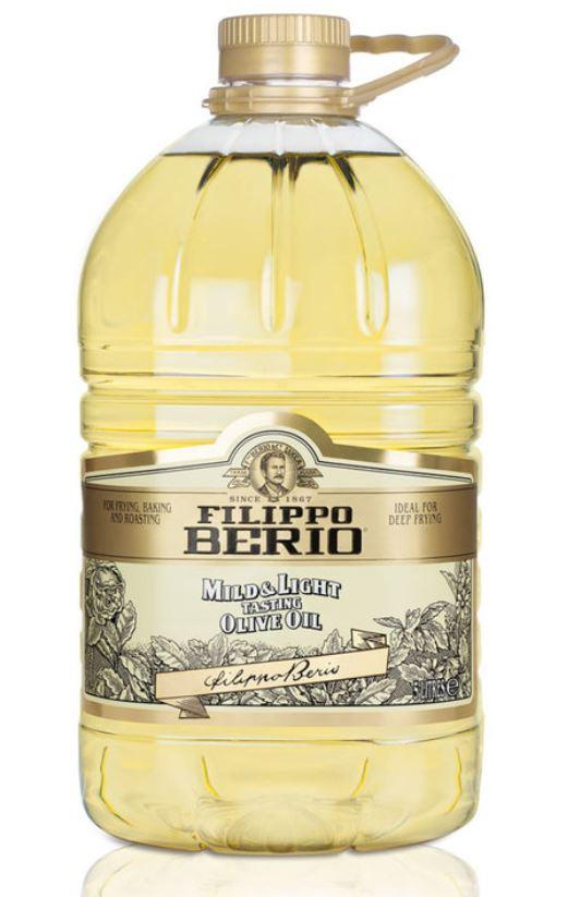 Filippo Berio Mild & Light Olive Oil, 5L 13.99 at Sheffield Costco