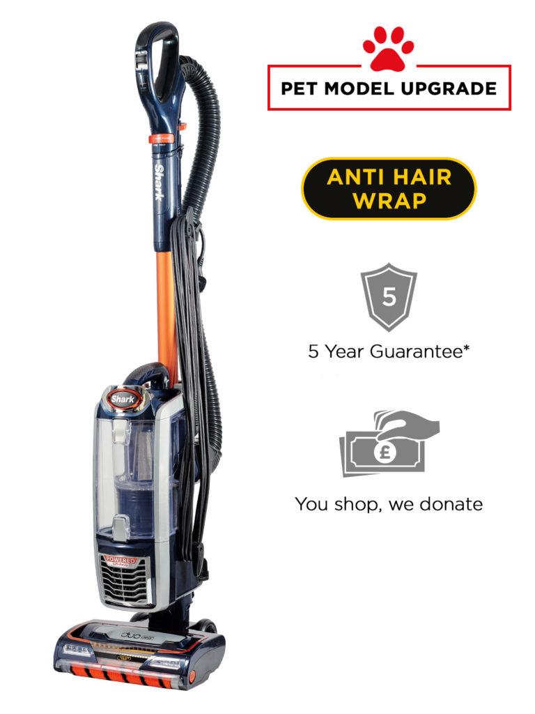 SHARK NZ801UKT Anti Hair Wrap + With Free Pet Brush Attachment £249.95 @ Shark