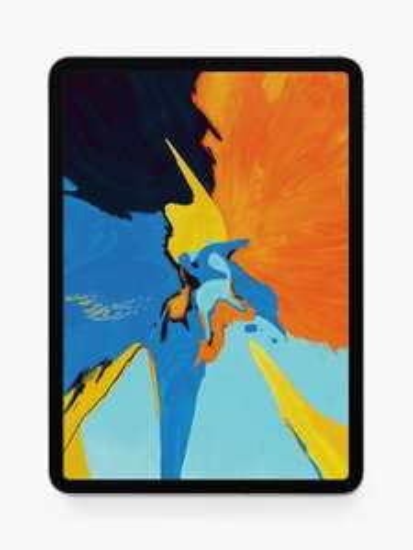 "2018 Apple iPad Pro 11"", A12X Bionic, iOS, Wi-Fi & Cellular, 64GB, Silver £759 @ John Lewis & Partners"