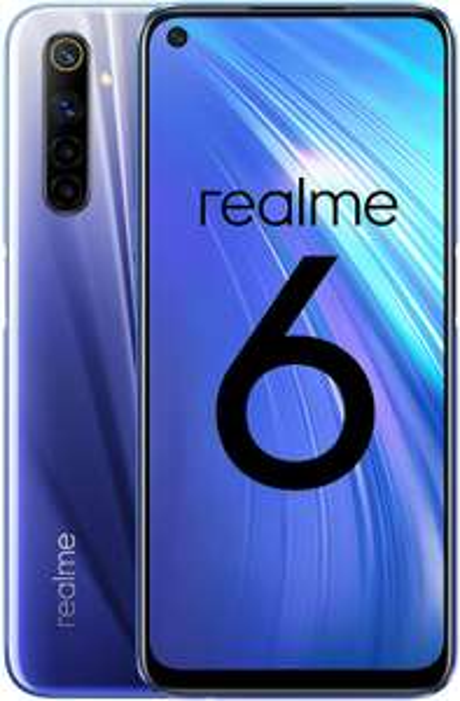 "Realme 6 Smartphone 4GB/128GB [6.5"" 90Hz Display, 4300mAh, HelioG90T, NFC, Quad AI 64MP Camera] - £187.77 / £180 fee free @ Amazon Spain"