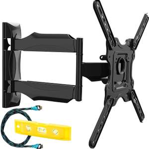 Invision® Ultra Slim Tilt Swivel TV Wall Bracket Mount £19.95 @ Amazon Dispatched from and sold by Invision Technology (UK) Limited