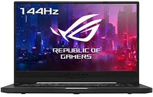 "ASUS Zephyrus G15 - 15.6 ""FHD IPS 144Hz, R7 4800HS, 16GB RAM, 512GB SSD, RTX 2060 Max-Q, QWERTY (Spanish), 76Wh, No OS £1077.39 @ Amazon ES"