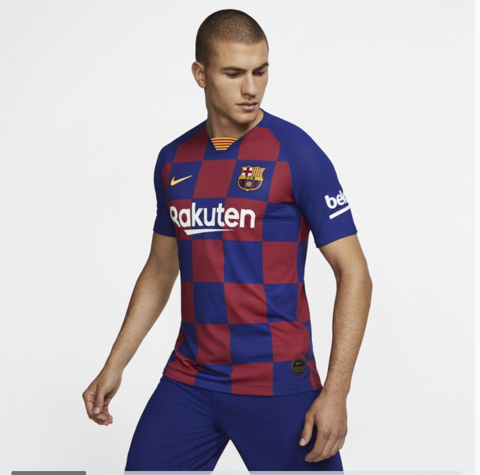 FC Barcelona 2019/20 Vapor Match Home Shirt £40.47 at Nike.com