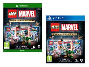 [PS4/XBOX One] LEGO Marvel Collection with all of the previously released DLC - £21.85 Delivered @ Base