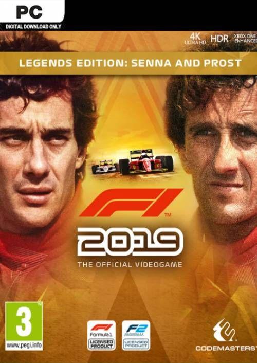 F1 2019 Legends Edition PC - £8.49 at CDKeys
