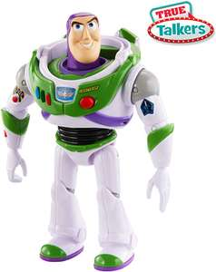 "Disney Pixar Toy Story 4 True Talkers Buzz Lightyear Figure, 7"" Tall Posable, Talking Character - £10.99 (+£4.49 NP) @ Amazon"