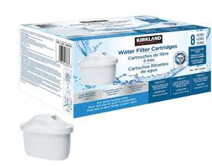 Kirkland Signature Water Filter Cartridges, 8 Pack £20.38 (Instore) (£27.98 delivered) at Costco