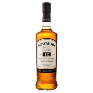 Various Malt Whiskies Reduced In Store (Eg, Bowmore Islay Single Malt 12yrs £28), Others In Store & Online, Ends 16th June @ Morrisons