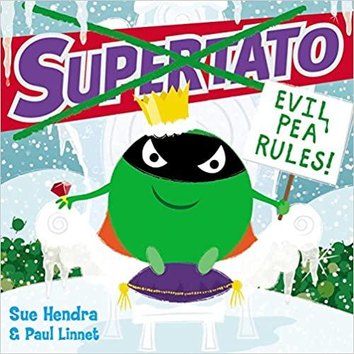 Supertato: Evil Pea Rules Paperback £3.49 (Prime) / £6.48 (non Prime) at Amazon