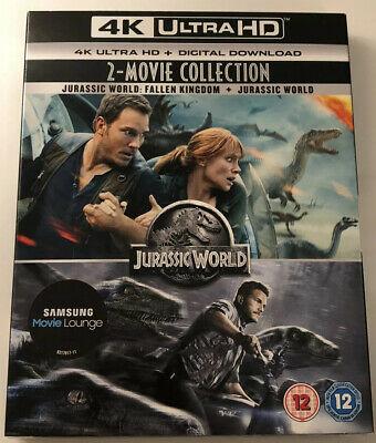 Jurassic World 2-Movie Collection (4k UHD) - £7.99 @ youberdeals91 / eBay