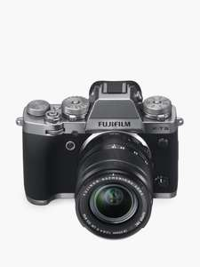 Fujifilm X-T3 Compact System Camera with XF 18-55mm IS Lens £1349 John Lewis & Partners