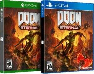 Doom Eternal PS4 / Xbox One - £26.99 delivered @ Currys eBay