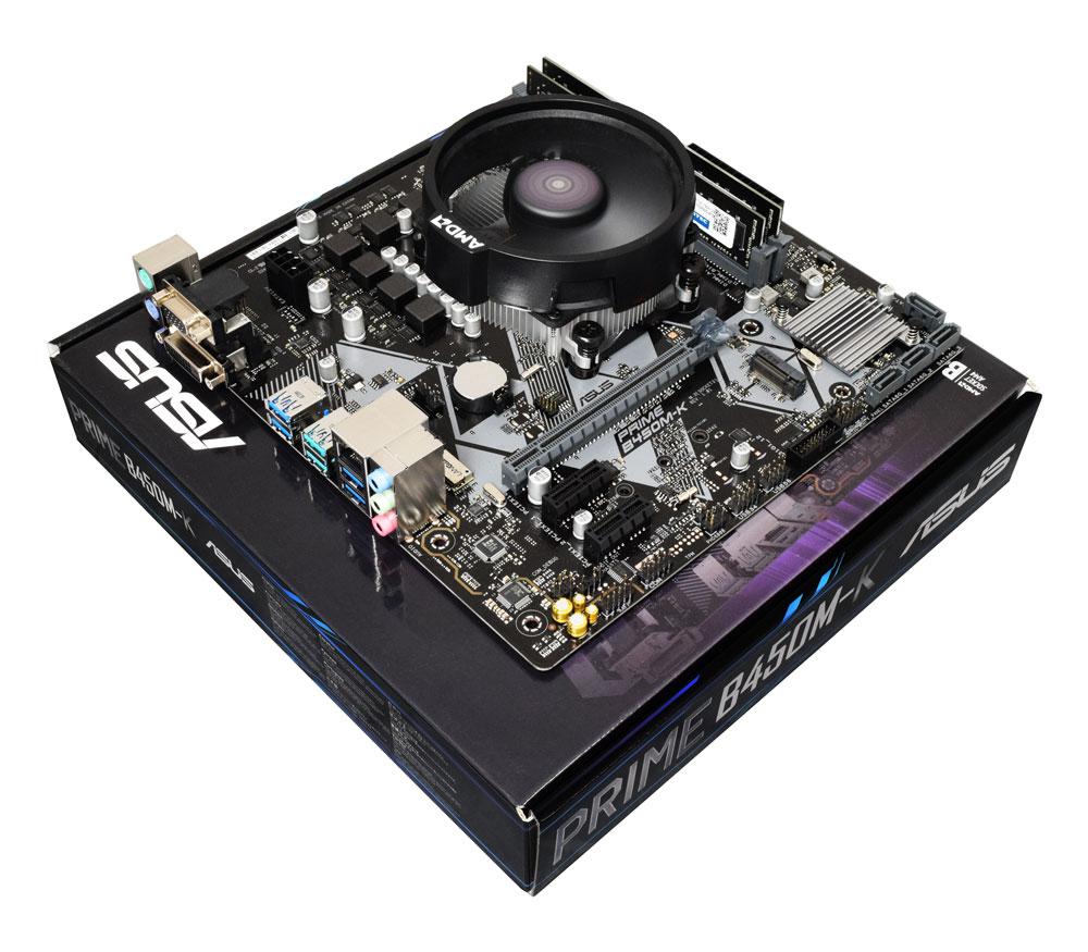 AMD Ryzen 5 3600X Six Core 4.4GHz, Asus B450M-A Motherboard CPU Bundle £249.99 AWD-IT
