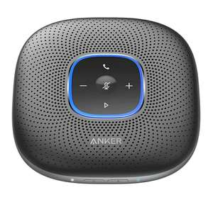 Anker PowerConf Bluetooth Speakerphone - With 6 Microphones, Enhanced Voice Pickup, 24H Call Time - £82.99 @ Ankerdirect Fulfilled By Amazon