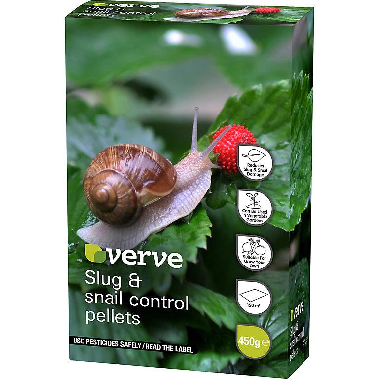 Verve Slug & snail Control Pest Control 450g 50p @ B&Q (C&C Only)