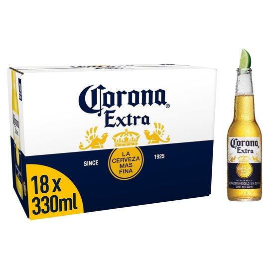Corona Beer 18 x 330ml pack £12 @ Aldi (Longridge)
