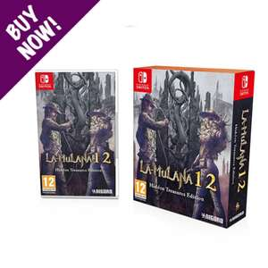 LA-MULANA 1 & 2 - Limited Edition (Switch) £28.99 / Disgaea 4 Complete+ - A Promise of Sardines (PS4) £20.99 @ NISA Europe (+£2.49 P&P)